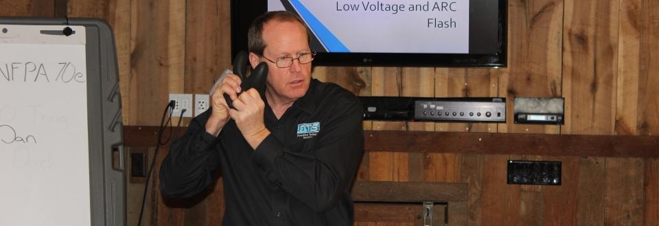 Dan Performing NFPA 70e Training